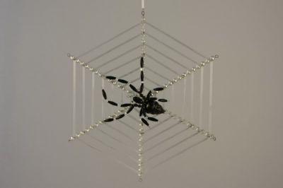 Vánoční ozdoby Pavouk v pavučině