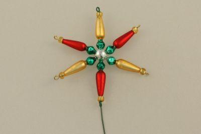Vánoční ozdoba Hvězdička - napichovák