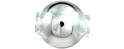Kulatá 14 mm - stříbrná ( 12 ks)