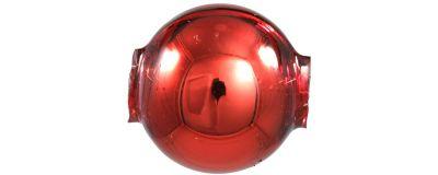 Kulatá 14 mm - lesk červená ( 12 ks)