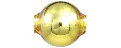 Kulatá 20 mm - lesk žlutá (3 ks)