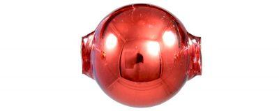 Kulatá 20 mm - lesk červená (3 ks)