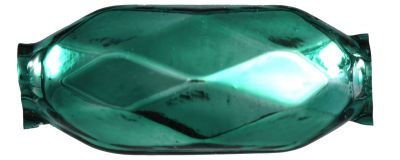 F196 Fantazie - lesk zelená (6 ks)