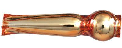 F209 Fantazie 17 mm - lesk oranžová (30 ks)