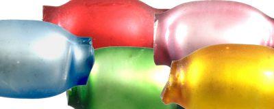 Žalud 7 mm - matná směs barev (60 ks)