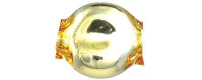 Čočka 6mm - lesk žlutá (60 ks)