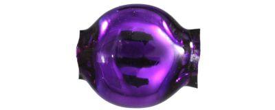 Čočka 6mm - lesk fialová (60 ks)