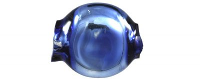 Čočka 6mm - lesk modrá (60 ks)