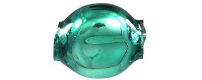 Čočka 6mm - lesk zelená (60 ks)