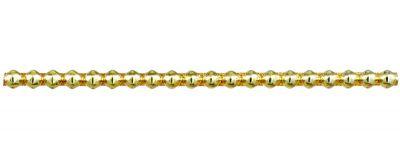 Rauta 6 mm - lesk žlutá (6 ks, 20 perlí na klaučeti)