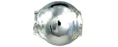 Kulatá 4 mm - stříbrná (60 ks)