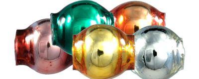 Kulatá 4 mm - lesk směs barev (60 ks)