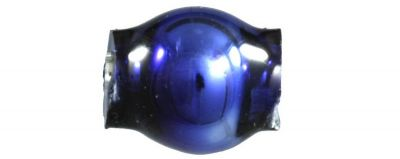 Kulatá 4 mm - lesk modrá (60 ks)