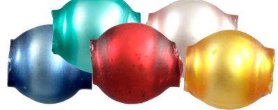 Kulatá 4 mm - mat směs barev (60 ks)