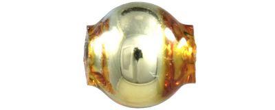 Kulatá 5 mm - lesk žlutá (60 ks)