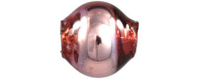Kulatá 5 mm - lesk růžová (60 ks)