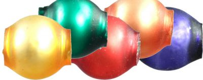 Kulatá 5 mm - mat směs barev (60 ks)