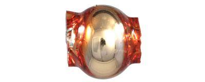 Kulatá 6 mm - lesk oranžová (60 ks)