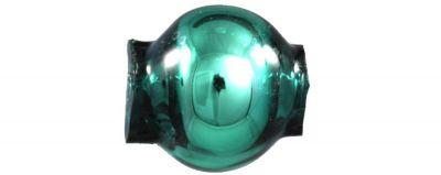 Kulatá 6 mm - lesk zelená (60 ks)