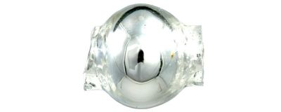 Kulatá 7 mm - stříbrná (60 ks)