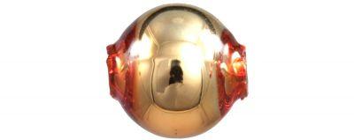 Kulatá 7 mm - lesk oranžová (60 ks)