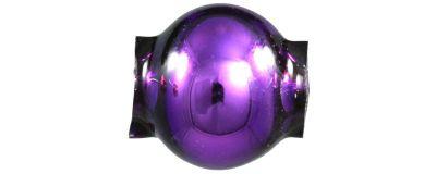 Kulatá 7 mm - lesk fialová (60 ks)