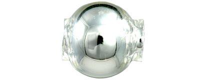 Kulatá 8 mm - stříbrná (60 ks)