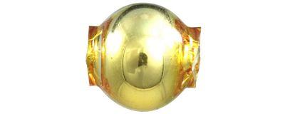 Kulatá 8 mm - lesk žlutá (60 ks)