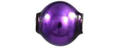 Kulatá 8 mm - lesk fialová (60 ks)