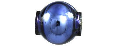 Kulatá 8 mm - lesk modrá (60 ks)
