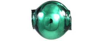 Kulatá 8 mm - lesk zelená (60 ks)