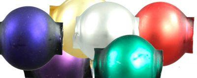 Kulatá 8 mm - mat směs barev (60 ks)