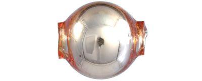 Kulatá 10 mm - lesk oranžová (30 ks)