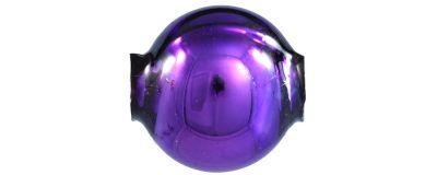 Kulatá 10 mm - lesk fialová (30 ks)