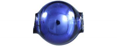 Kulatá 10 mm - lesk modrá (30 ks)