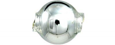 Kulatá 12 mm - stříbrná (30 ks)