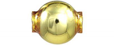Kulatá 12 mm - lesk žlutá (30 ks)