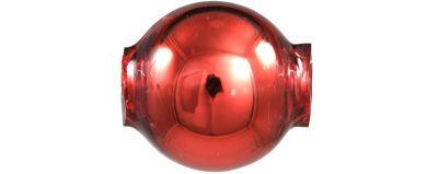 Kulatá 12 mm - lesk červená (30 ks)