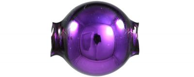 Kulatá 12 mm - lesk fialová (30 ks)