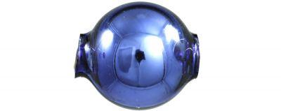 Kulatá 12 mm - lesk modrá (30 ks)