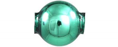Kulatá 12 mm - lesk zelená (30 ks)