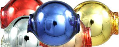 Kulatá 12 mm - lesk směs barev (30 ks)