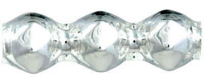 Rauta trojánek 5 mm - stříbrná (30 ks)