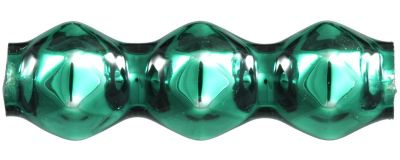 Rauta trojánek 5 mm - lesk zelená (30 ks)