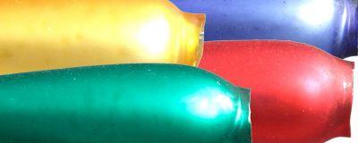 Hruška F282, 21 mm - matná směs barev  (30 ks)
