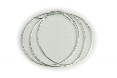 Drát MS 0,8 mm - stříbrný, 2m