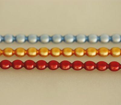 Čočka 6 mm - matná směs barev  (12 ks, 20 perlí na klaučeti)