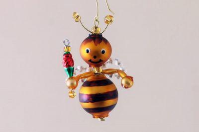 Vánoční ozdoba Včelička