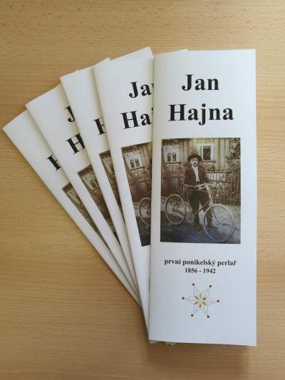 Brožura o Janu Hajnovi