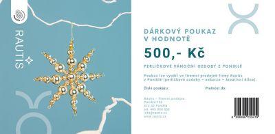 Dárkový poukaz - 500